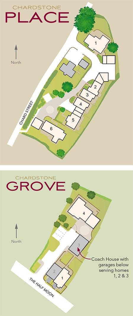 Chardstones Development Map