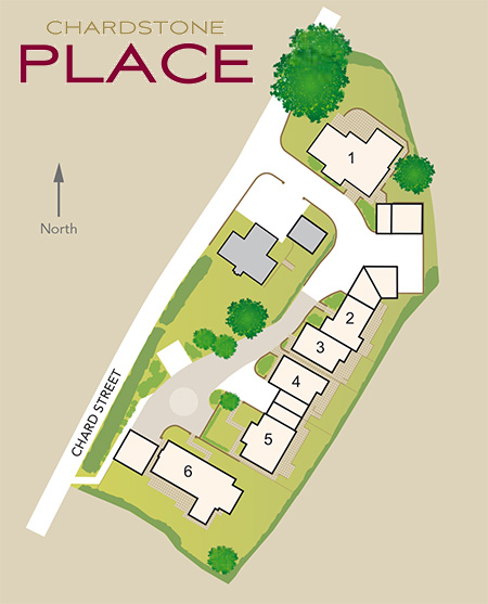 Chardstone Place Development Map