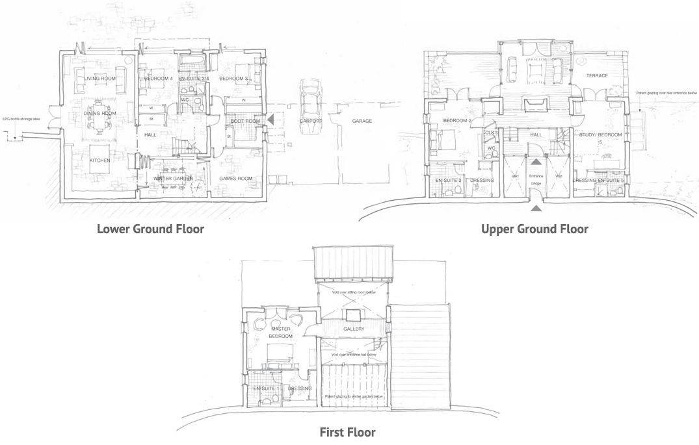 Duryard Floor Plans