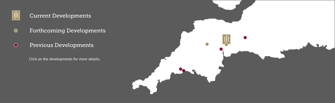 Jameson Development Map