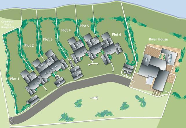 The Moorings Development Map