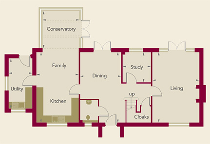 Chardstone Place Home 6 Ground Floor Plan