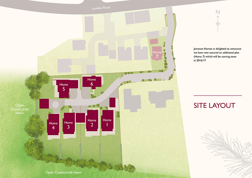 Cedar Court Site Plan