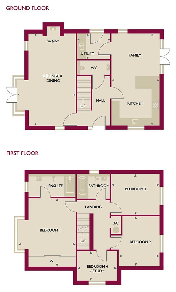 Cedar court home 7 jameson homes Cedar homes floor plans